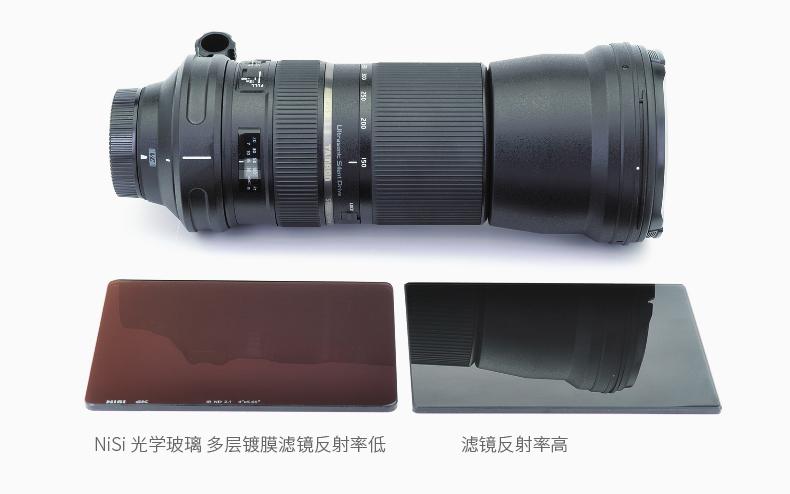 NiSi 耐司 4X5.65 软渐变灰镜 GND 0.3 0.6 0.9 1.2 方形电影滤镜